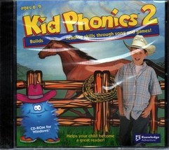 Kid Phonics 2 (Ages 6-9) (PC-CD, 2006) for Windows - NEW in Jewel Case - $11.98