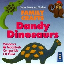 Dandy Dinosaurs (Ages 3-9) CD-ROM, 1994 for Win/Mac - NEW CD in SLEEVE - $5.98