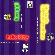 Felix the Cat + Hello Kitty + Keroppi Day Hopper PC-CD - NEW CD&Manual i... - $7.98