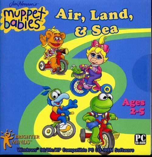 Primary image for Muppet Babies Air, Land & Sea (Ages 2-5) (PC-CD, 2006) Windows -NEW CD in SLEEVE