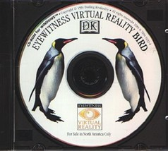 DK Eyewitness Virtual Reality Bird (Ages 3+) (PC-CD, 1995) - NEW CD in S... - $5.98