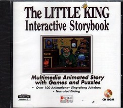 The LITTLE KING Interactive Storybook (PC-CD, 1995) Windows - NEW in Jew... - $9.98