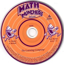 Math Munchers Deluxe (Ages 8-12) CD-ROM for Win/Mac - NEW in SLV - $9.98