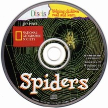 Discis Books: Spiders (Ages 4-9) CD-ROM for Win... - $9.98
