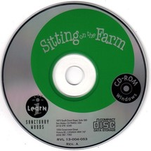 Sitting on the Farm (Ages 7-11) (PC-CD, 1994) for Windows - NEW CD in SL... - $9.98