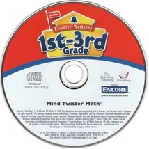 Mind Twister Math (Ages 7-10) (PC-CD, 2007) for Windows - NEW CD in SLEEVE - $9.98