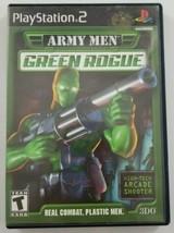 Army Men Green Rogue PS2 Game 2001 3DO Company No Manual Playstation 2  - $5.89