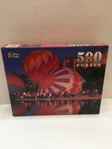 1998 Golden Books Puzzle Hot Air Balloons 41322-00 Factory Sealed 500 Pi... - $8.59