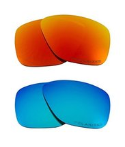 New SEEK Replacement Lenses Oakley BREADBOX - Polarized Red Blue - $33.15