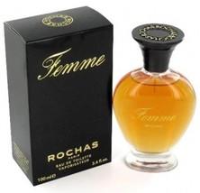 Femme by Rochas for Women, 3.4 fl.oz / 100 ml Eau De Toilette Spray, Rare - $48.98