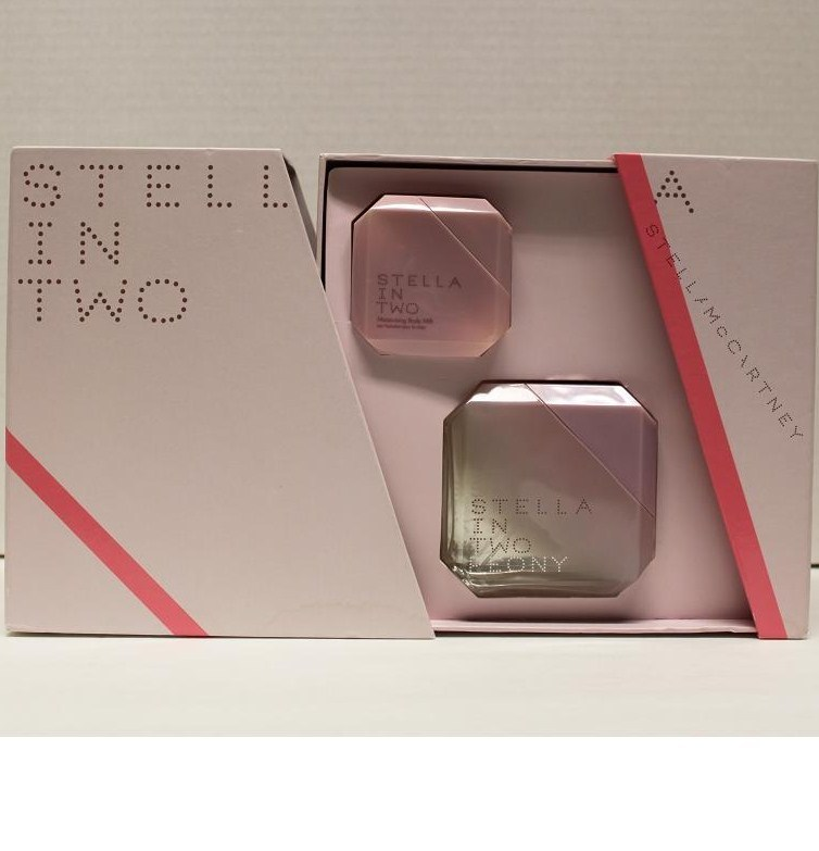 Primary image for Stella in Two by Stella McCartney 2PCs Women Set, 2.5 oz + 1.6 body Milk, Rare