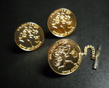 Cuff links and tie tack 1976 olympics golden 26 thumb155 crop