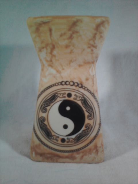 Primary image for YIN YANG OIL WARMER Home Fragrance Yin-Yang (#39580)