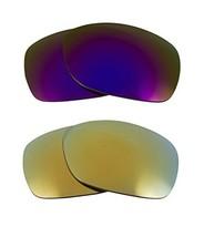 New Seek Optics Replacement Lenses Oakley Sideways   Green Purple - $21.27