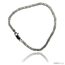 Length 8 - Sterling Silver Italian BYZANTINE Chain Necklaces & Bracelets... - $31.94