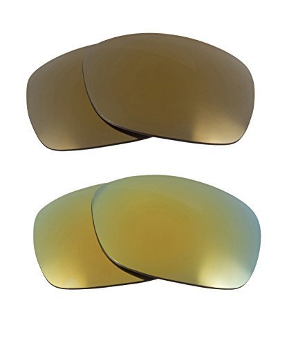 Primary image for New SEEK OPTICS Replacement Lenses Oakley SIDEWAYS - Green Gold