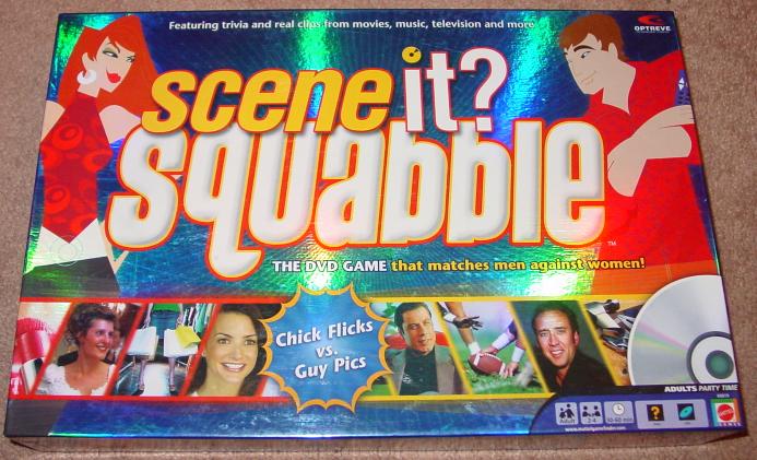SCENE IT DVD GAME SQUABBLE MATTEL SCREENLIFE 2006 OPEN BOX UNPLAYED