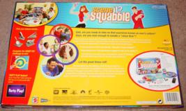 SCENE IT DVD GAME SQUABBLE MATTEL SCREENLIFE 2006 OPEN BOX UNPLAYED image 3