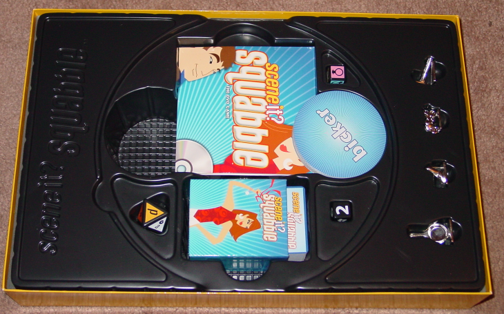 SCENE IT DVD GAME SQUABBLE MATTEL SCREENLIFE 2006 OPEN BOX UNPLAYED image 7