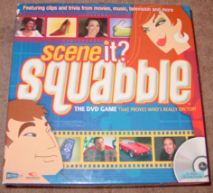 SCENE IT DVD GAME SQUABBLE 2005 SCREENLIFE COMPLETE EXCELLENT - $15.00