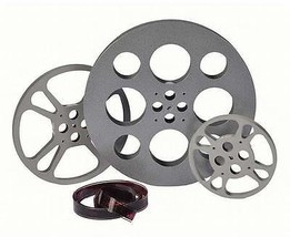 Film Reel Wall Decor 3 Piece Set Natural Finish... - $324.00