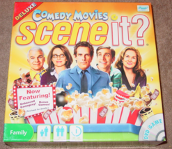 SCENE IT DVD GAME COMEDY MOVIES 2010 SCREEN LIFE GAMES COMPLETE EXCELLENT - $15.00