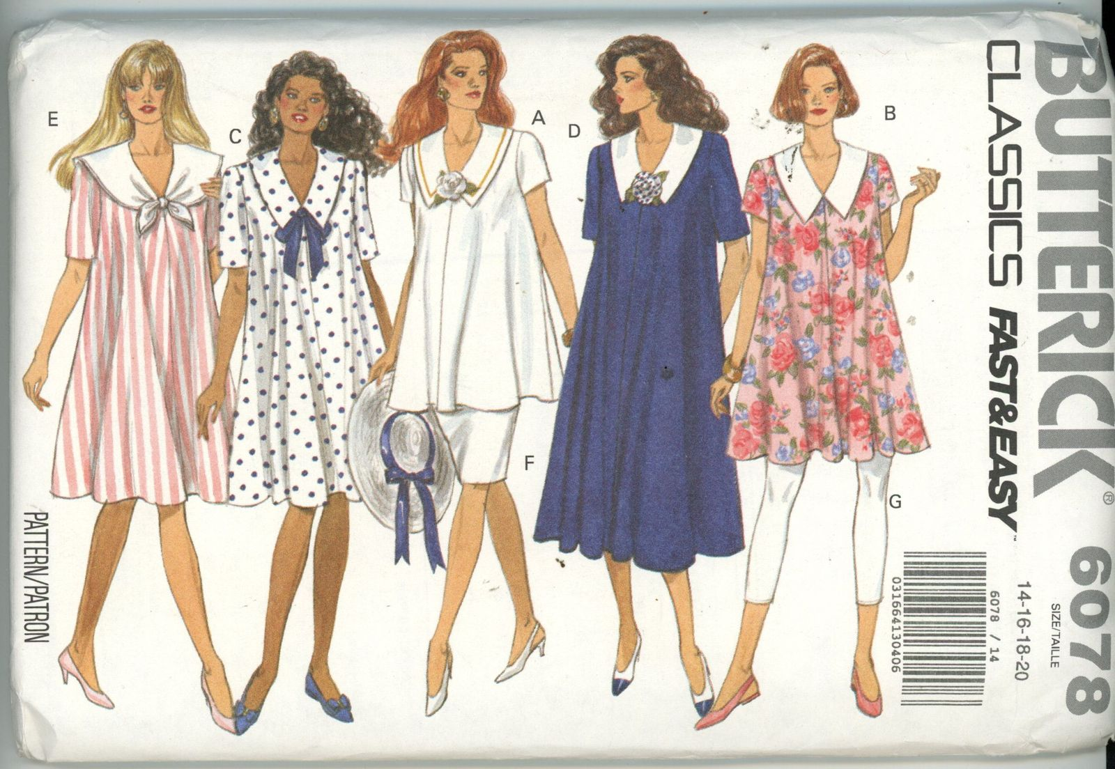 58d2390abde Vintage Butterick Sewing Pattern 6078 and 50 similar items. Img885
