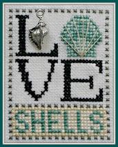 Love Shells Love Bits cross stitch chart Hinzeit - $6.00