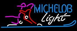Michelob Light Snow Ski Boot Neon Sign - $699.00