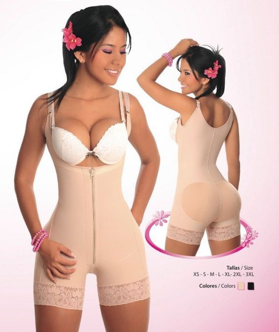 Primary image for Fajas Colombiana Short Levanta Cola Salome 0216  Body Shaper Strapless