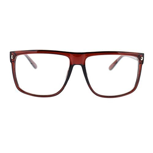 Large Thin Frame Glasses : 80s Normcore Nerdy Geek Large Thin Plastic Frame Eye ...