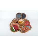kilim coaster,coaster set ,rug coasters,handmade coaster,vintage coaster... - $29.00