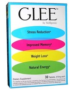2 Packs GLEE Dietary Supplement Wellgenix~Stress Reduction~Weight Loss~ ... - $29.95