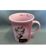 Pink Marilyn Monroe Ceramic Coffee Mug w Facismile Signature by Vandorgifts - $6.79