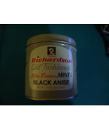 1976 Richardson's After Dinner Anise Mints Tin marked 1776-1976 - $20.00