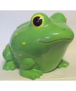 Large Froggie Cookie Jar Sunny Patch - $49.00