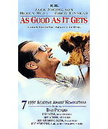 As Good as It Gets (VHS, 1998, Closed Caption) - $3.50