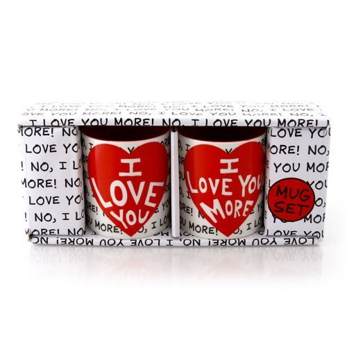 Enesco Our Name is Mud by Lorrie Veasey I Love You Mug Set