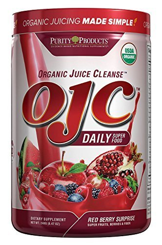 Purity Products - Certified Organic Juice Cleanse (OJC) 8.46oz - Red Berry Su...