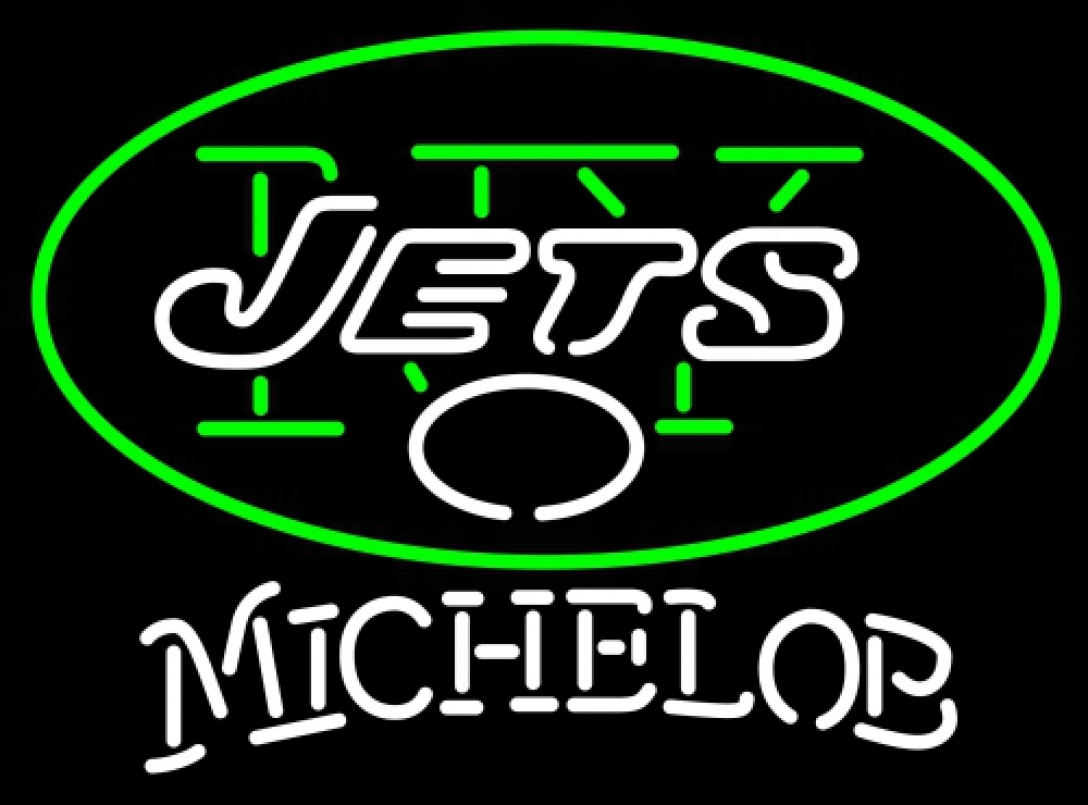 Michelob NFL New York Jets Neon Sign
