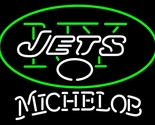 Michelob nfl new york jets neon sign 16  x 16  thumb155 crop