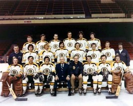 1972 Boston BruinsTeam 8X10 Color Hockey Memorabilia Photo - $6.99
