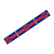 CHICAGO CUBS Pack of 3 ELASTIC HAIR HEADBANDS TEAM LOGO MLB BASEBALL - $13.92