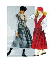 McCalls 4977 Womens Jumper, Button FrontBlouse and Petticoat Size 12 Uncut - $5.50