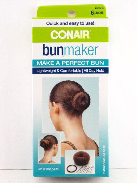 CONAIR BUN MAKER - 6 PIECE KIT (55583) - $7.99