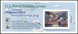 RW70A, DUCK STAMP SELF-ADHESIVE PANE - PRICED TO SELL QUICKLY - $23.00