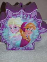 Disney Frozen Elsa & Anna On One Side Olaf On the Other Side Ceramic Coi... - $26.00