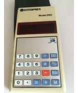 Vintage Enterprex Model-Z50 Calculator Case Working - $9.74