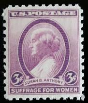 1936 3c Susan B. Anthony Scott 784 Mint F/VF NH - $0.99
