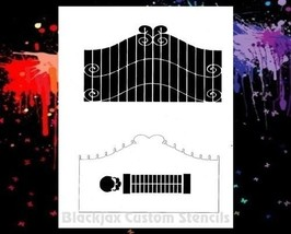Gates Of Hell  Airbrush Stencil, Template - $10.99